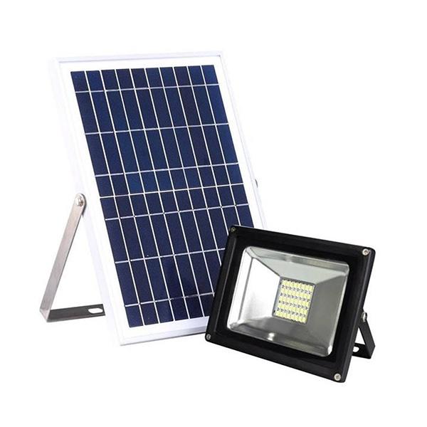 Reflector LED con Panel Solar